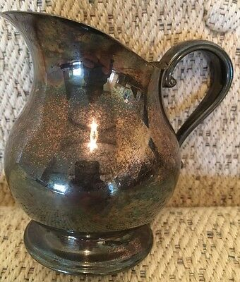 Newport Silverplate Antique Vintage Pitcher Small