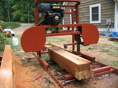 "Sawmill Portable Bandsawmill KIT 36"" X 16' $1,895.00 has free Engine Upgrade"