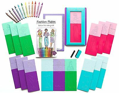 Kahootz Fashion Plates Mega Kit
