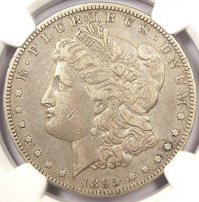 1895-O Morgan Silver Dollar $1 - NGC VF Details - Rare Date Certified Coin
