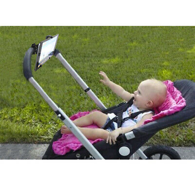 Convenient Stroller/Buggy/Bike/Jogger Bar Mount Tablet PC iPad Holder Stand