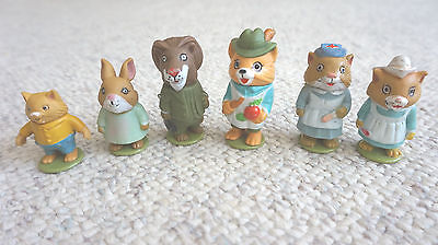 Richard Scarry's ~ Puzzletown ~1976 ~ 74 Piece Playset