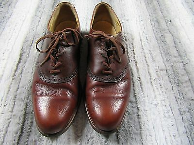 Cole Haan Men's Leather Dress Shoes Size 11 M Brown