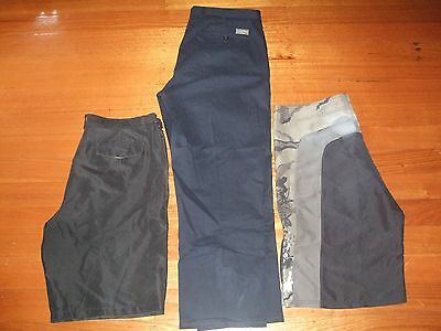 Mens Size 40 Pants & 2 pairs of Board Shorts includes Gazman