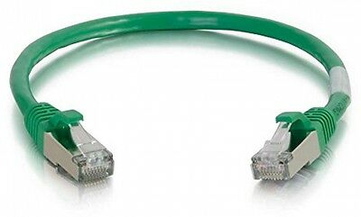 C2G 2m Cat5e Booted Shielded (STP) Network Patch Cable - Green