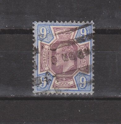 Great Britain Edward VII 9pUltra & Dull Violet Used