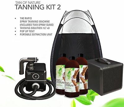 Professional Spray Tanning Kit Two