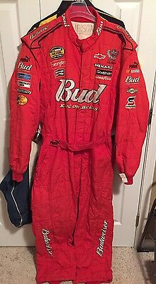 Dale Earnhardt Jr Budweiser Tony Gibson Nascar Race Used Pit Crew Chief Firesuit