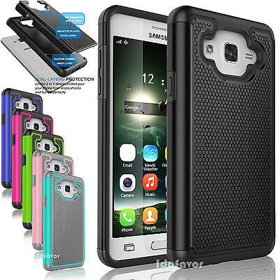New Shockproof Armor Hybrid Rugged Rubber Hard Case Cover for Samsung Galaxy On5