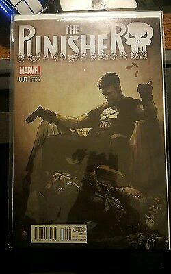 Punisher #1 (2016) Alex Maleev 1:25 Variant [NM]