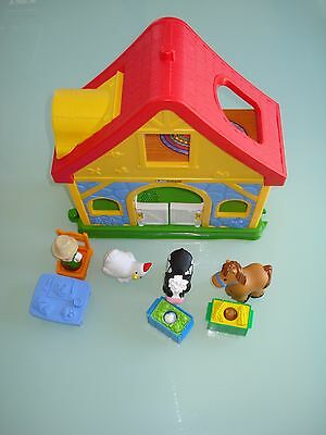 FISHER PRICE Little People Farm House Play set Ages 1-5 years