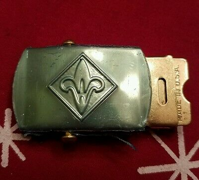 Vintage Boy Scouts Of America New Belt Buckle Rare Old