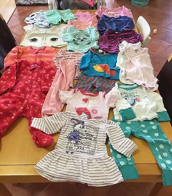 Mixed Baby Girl Clothes Size 0