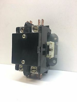 Arrow Hart C402U10 2-Pole 40A Ind, 50A Res. Magnetic Contactor 24V Coil