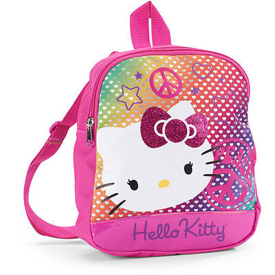 hello kitty pink small backpack bag purse cute girls teens young youth juniors