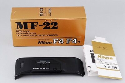 【A- Mint /in Box】 Nikon MF-22 Data Back for F4 F4S F4E F4P From JAPAN #1803