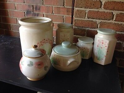 Robert Gordon Pottery Canisters