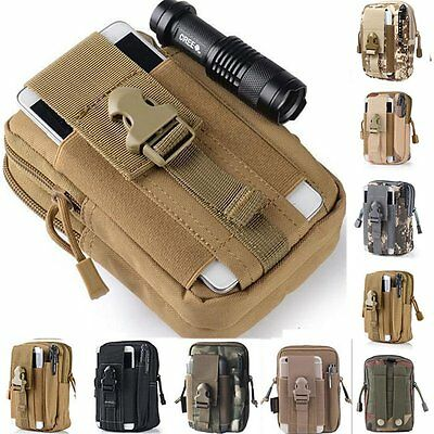 Tactical Mobile Pouch Belt Waist Pack Bag Military Waist Fanny Pack Phone Pocket