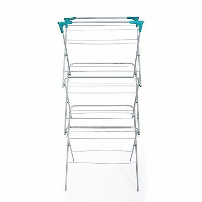 VECELO 3-tier Folding  Clothes Dryer Airer Laundry / Drying Rack clothes hanger