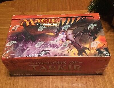 Magic The Gathering Mtg Dragons Of Tarkir Booster Box Factory Sealed New