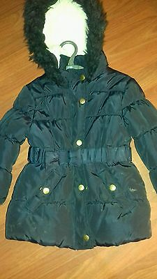 black coat for girls/age4/5yrs