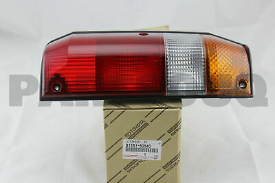 8155160540 Genuine Toyota LENS, REAR COMBINATION LAMP, RH 81551-60540