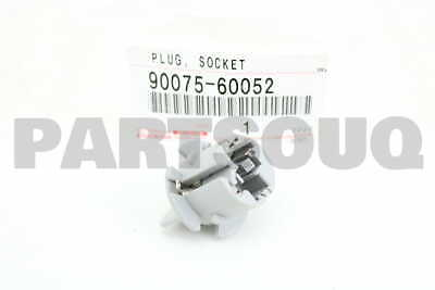 9007560052 Genuine Toyota SOCKET & WIRE SUB-ASSY, REAR COMBINATION LAMP, LH
