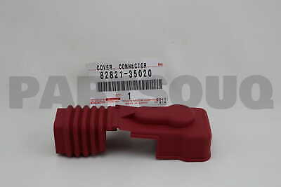 8282135020 Genuine Toyota COVER, CONNECTOR 82821-35020