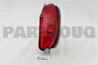 8192148031 Genuine Toyota LENS & BODY, REAR FOG LAMP, LH 81921-48031