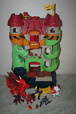 Fisher Price Imaginext Dragon World Fortress P3787 Jousting Knights +++