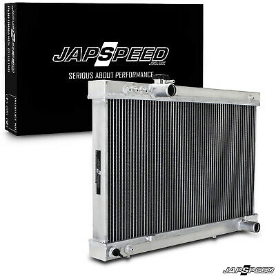 Japspeed High Flow Aluminium Sport Radiator Rad Toyota Supra Jza70 Mk3 Manual