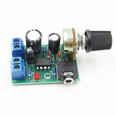 LM386 Audio Power Amplifier Board DC 3~12V 5v AMP Module Adjustable volume