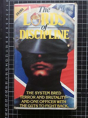 LORDS OF DISCIPLINE rare CIC BETA not VHS video 80s military drama