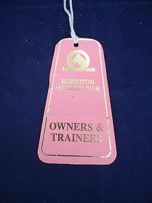1 - Horse racing - Card Badge - Brighton Owners and trainers -