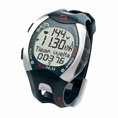 SIGMA RC 14.11 GRAY RUNNING COMPUTER Heart Rate Monitor Watch Sport  Fitness