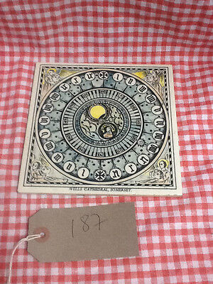 Vintage Ceramic Pot Stand Tile Wells Cathedral Somerset by Florian Studios