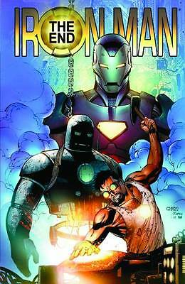 Iron Man: The End by Fraction, Layton, JR Jr & more TPB Marvel Comics 2010 OOP