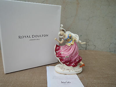Royal Doulton Icons Figure, Columbine HN 5654, New in Box, Limited Edition