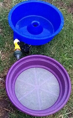 Blue Bowl Classifier Screen Gold Prospecting Equipment Mining
