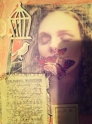 Mixed Media Collage Altered Art