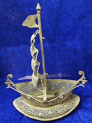 Antique Islamic Big Size Boat Figure Electric Lamp From India
