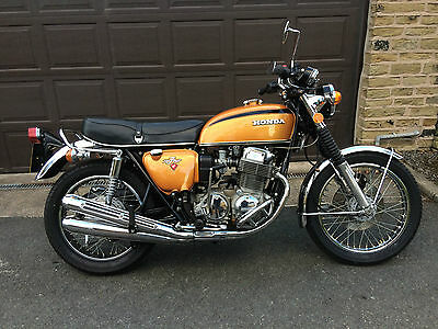 Honda CB750 four K2  (UK bike) 1974