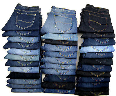 JOBLOT EX-LEE JEANS 35 PAIRS (GRADE B) BNWOT EXCELLENT FOR RESALE  ref J9
