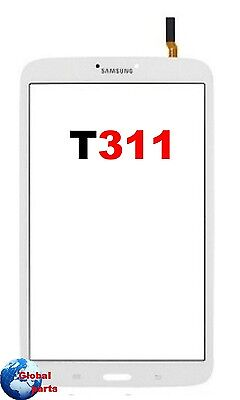 Samsung Galaxy Tab 3 Sm-T311 3G 8.0 Ricambio Vetro Touch Screen Bianco