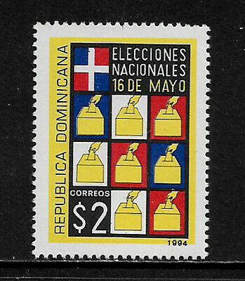 Dominican Rep #1162 Mint Never Hinged Stamp - Elections