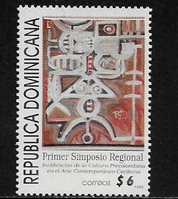 Dominican Rep #1269 Mint Never Hinged Stamp - Art Symposium