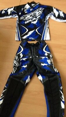 wulfsport kids  MX Race Pants And Top Set