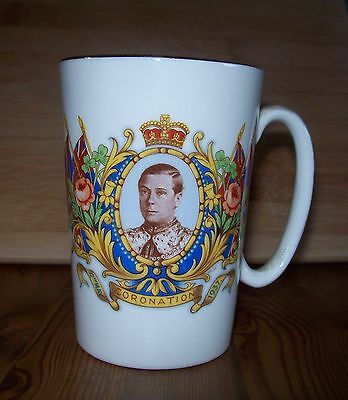 King Edward VIIIth Coronation mug collectable  gd condition T&K ceramics Stoke