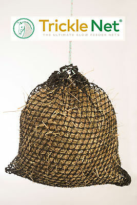 The Original Trickle Net - Strongest Small Holed Slow Feeding Hay / Haylage Net