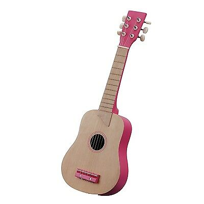 New Classic Toys - Guitar - 10302 - Nature/Rose. Delivery is Free